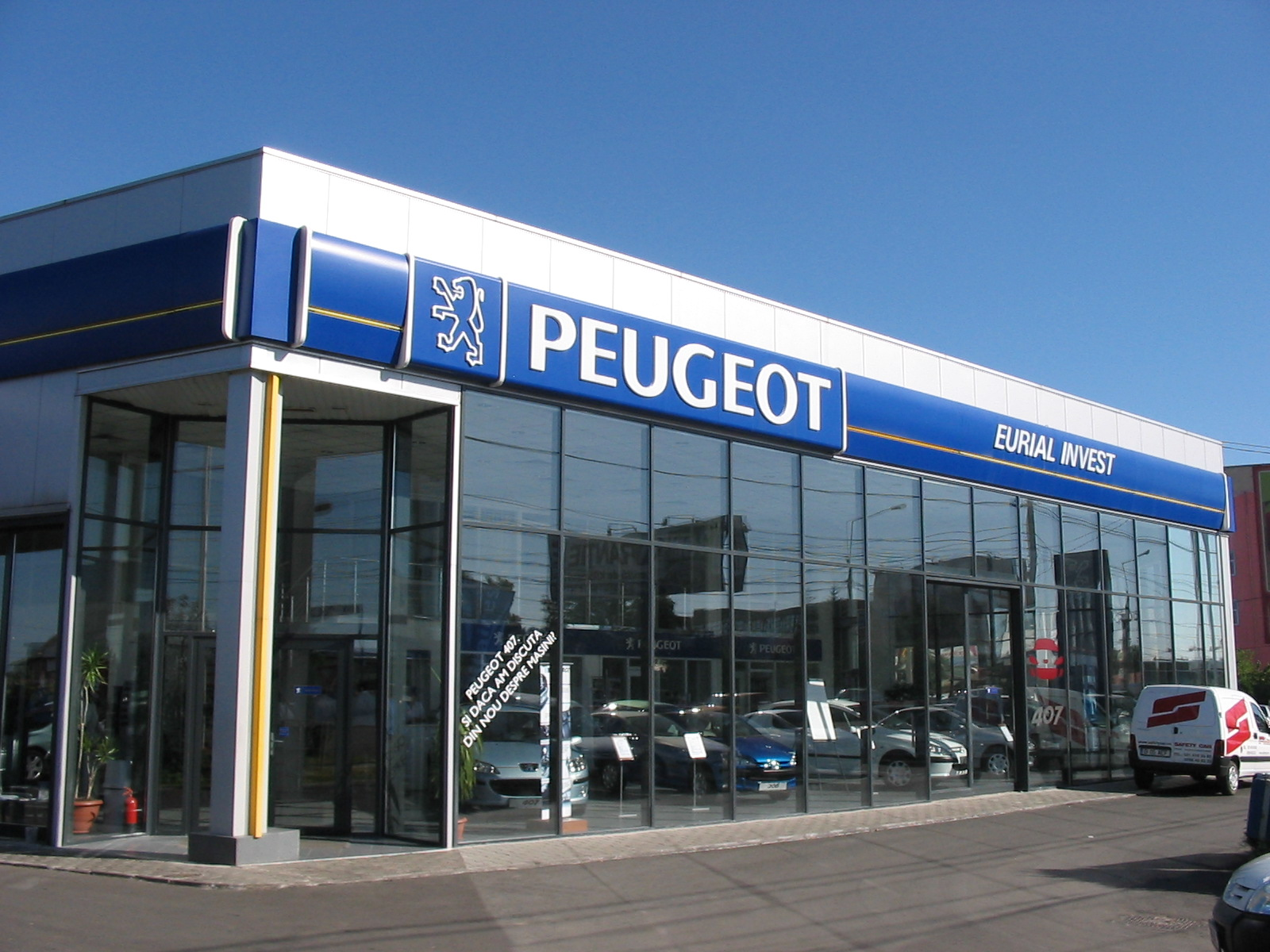peugeot showroom service ploiesti conarg. Black Bedroom Furniture Sets. Home Design Ideas